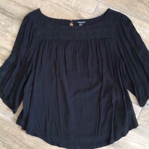 Forever21 3/4 sleeve blouse L